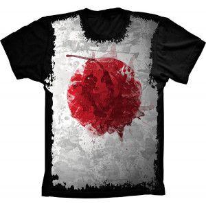 Camiseta Bandeira Do Japão