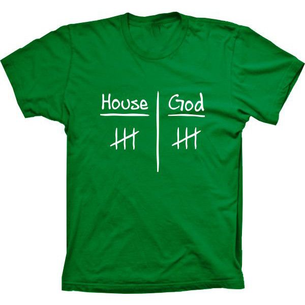 Camiseta Doctor House House X God