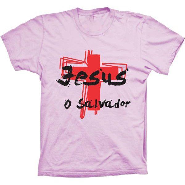 Camiseta Jesus o Salvador