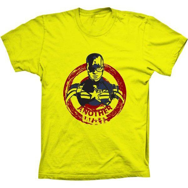 Camiseta Capitão América Another War