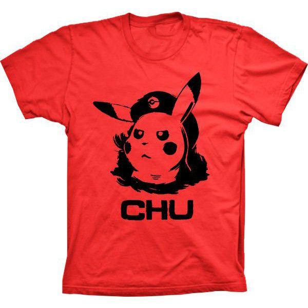 Camiseta Pikachu Chu