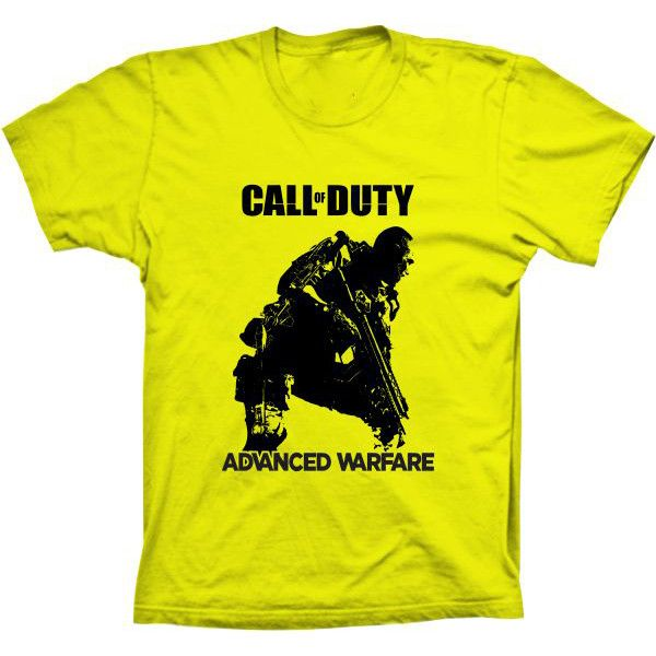 Camiseta Call Of Duty Advanced Warfare