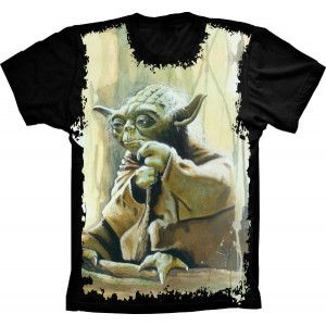 Camiseta Star Wars Yoda Jedi