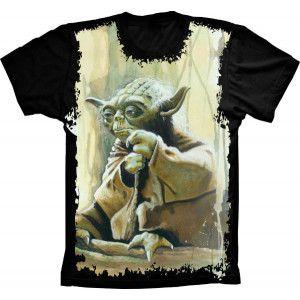 Camiseta Star Wars Yoda Jedi S-61