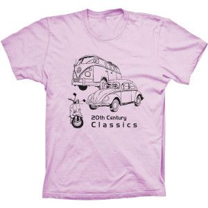 Camiseta Classics Fusca, Kombi e Mobilete