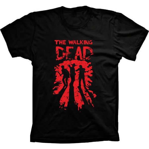 Camiseta The Walking Dead Zumbi