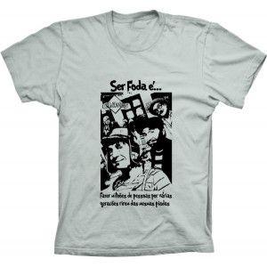 Camiseta Chaves Isso Sim É Ser Foda