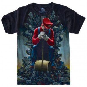 Camiseta Super Mário Bros S-448