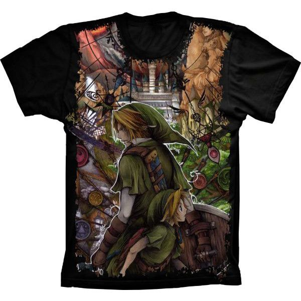 Camiseta The Legend of Zelda Link