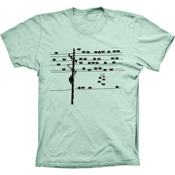 Camiseta Space Invaders Poste