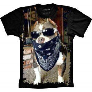 Camiseta Pitbull Pit-bull S-387