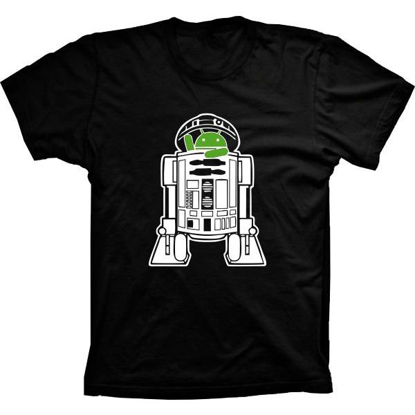 Camiseta Android Robo R2 D2
