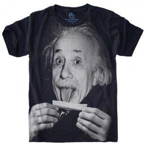 Camiseta Einstein Lingua S-426