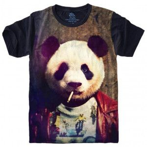 Camiseta Panda Style S-435