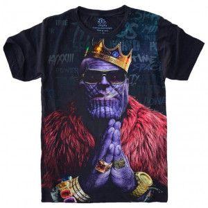 Camiseta Thanos Vingadores Avengers S-445