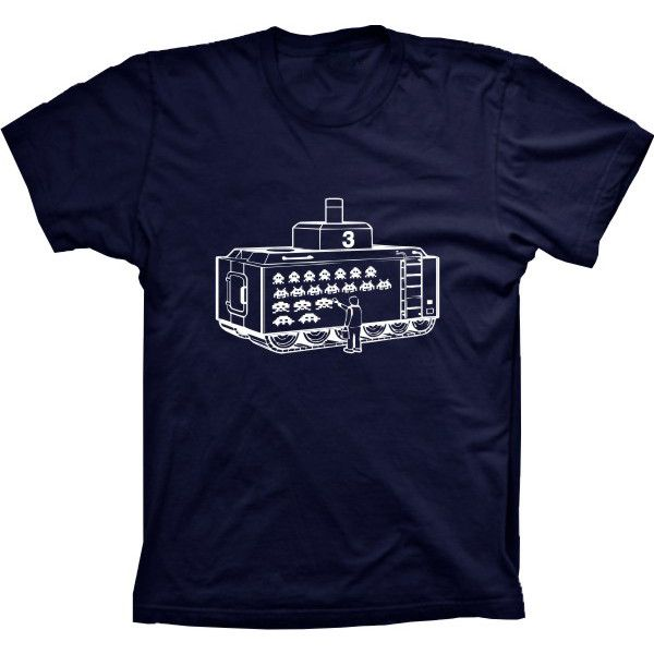 Camiseta Space Invaders Tanque