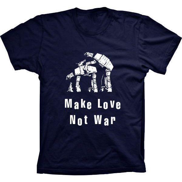 Camiseta Star Wars Make Love Not War