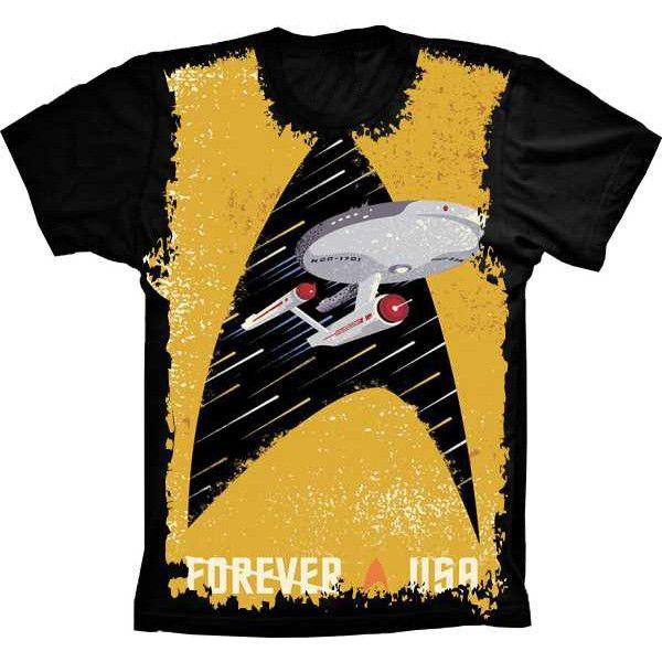 Camiseta Star Trek Forever a USA
