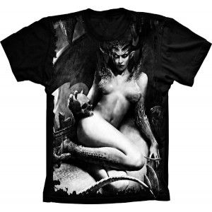 Camiseta Woman Demon