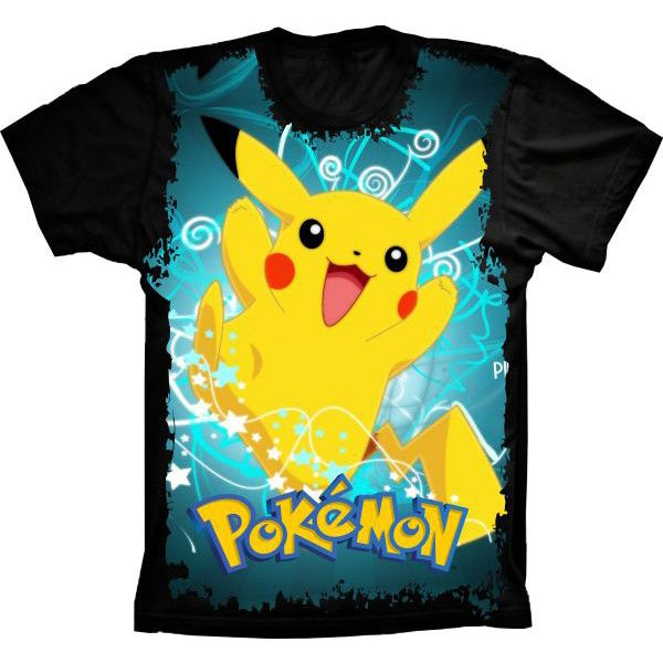 Camiseta Pokémon Go Pikachu