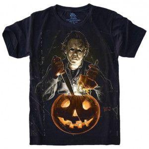 Camiseta Michael Myers Halloween S-527