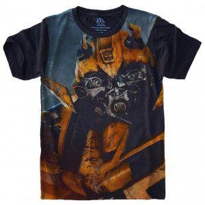 Camiseta Transformers Bumblebee S-461