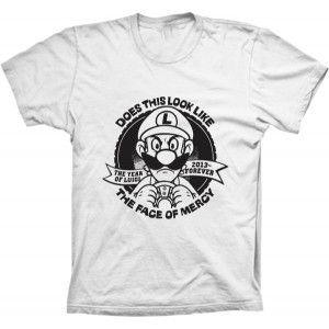 Camiseta Luigi Forever Mario Bros