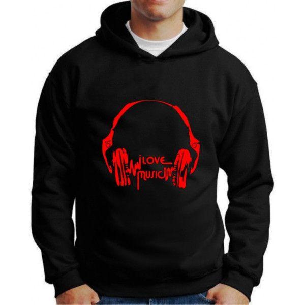 Moletom I Love Music