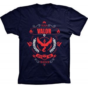 Camiseta Pokémon Go Team Valor