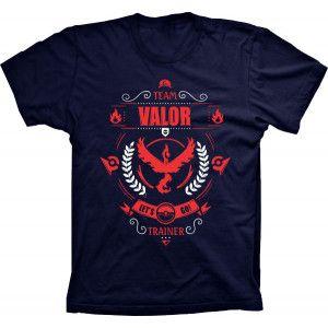 Camiseta Pokémon Go Team Valor