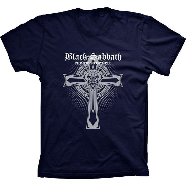 Camiseta Black Sabbath The Rules Of Hell