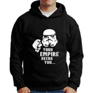 Moletom Darth Vader Your Empire