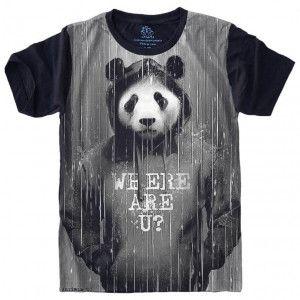 Camiseta Panda Rain S-434