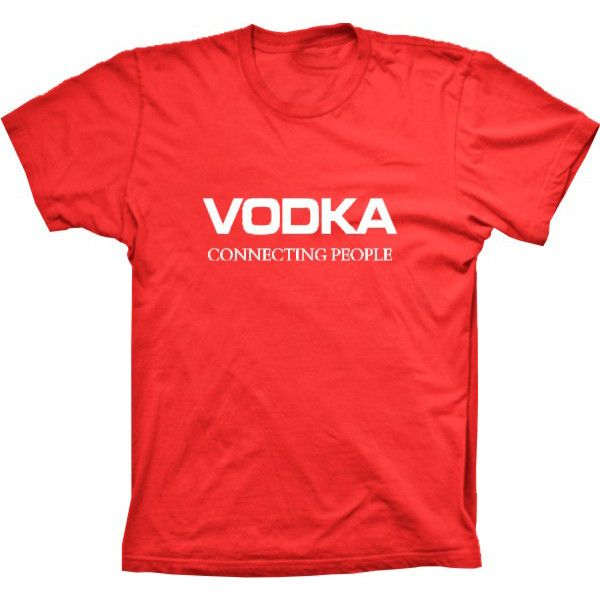 Camiseta Vodka Connecting People