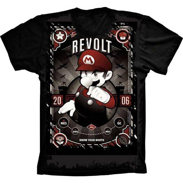 Camiseta Mario Revolt