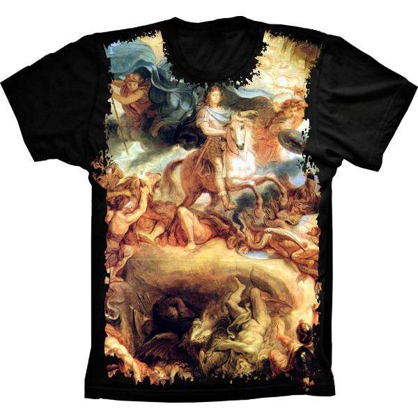 Camiseta Homens Anjos