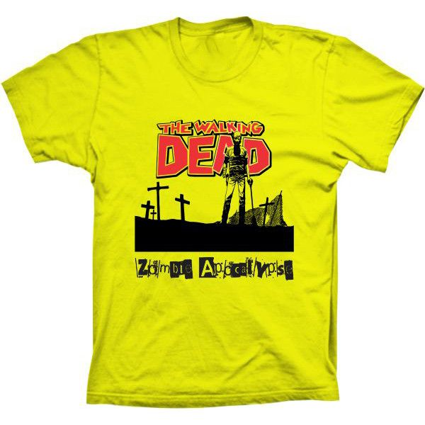Camiseta The Walking Dead Zombie Apocalypse