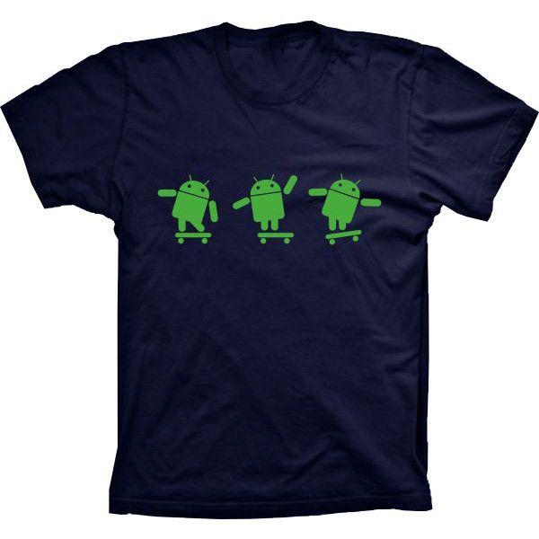 Camiseta Android Skate