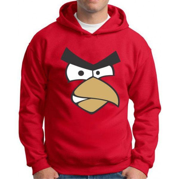 Moletom Angry Birds Vermelho