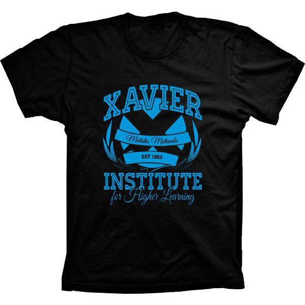 Camiseta Xavier Institute For Higher Learning