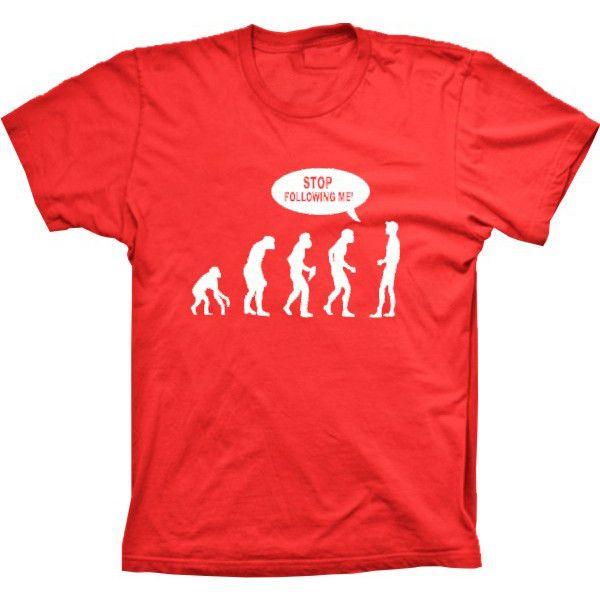 Camiseta Evolução Da Humanidade Stop