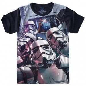 Camiseta Star Wars Storm Trooper Selfie S-438