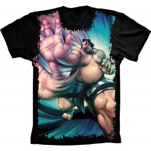 Camiseta Street Fighter E. Honda