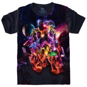 Camiseta Vingadores Avengers Marvel S-497