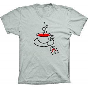 Camiseta Super Mario Chá De Cogumelo