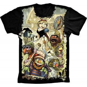 Camiseta Os Muppets