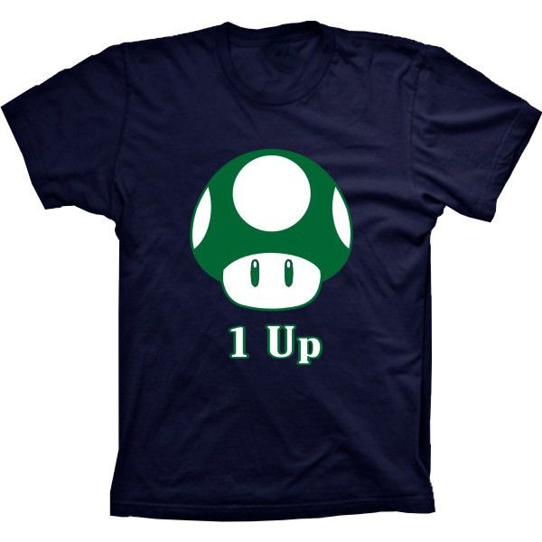 Camiseta Super Mario 1 Up