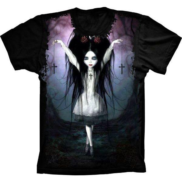 Camiseta Menina Bruxinha