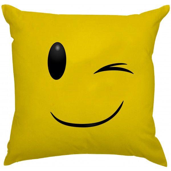 Almofada Emoji Piscando