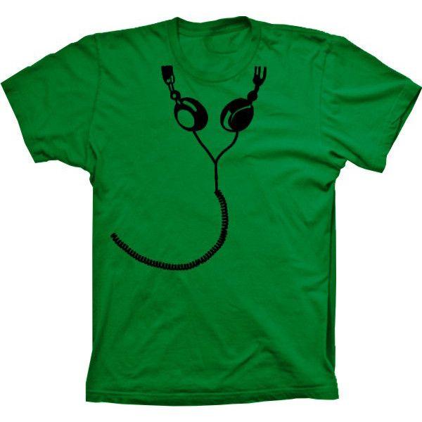 Camiseta Fone De Ouvido